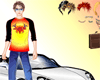 Cool Car and Boy